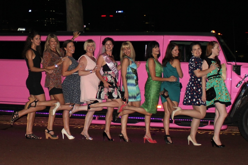 Perth Hummer Ladies Night