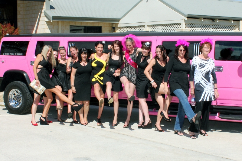 Pink Perth Stretch Limousine