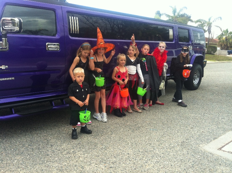 Purple Hummer Halloween