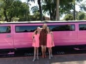 Pink Stretch Hummer Childrens party