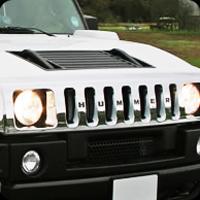White hummer limousine specs