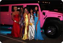 Pink Hummer school Ball