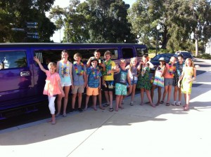 childrens limo party perth