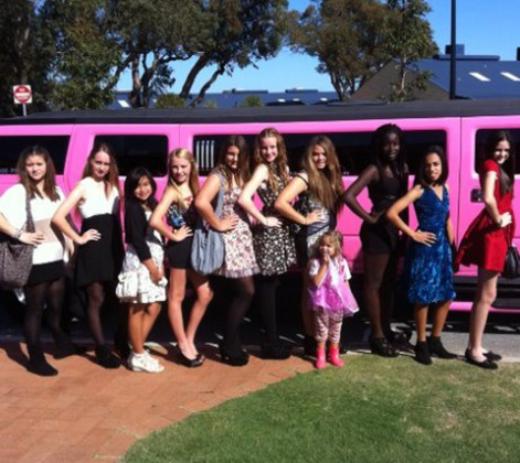 Pink Limo Perth
