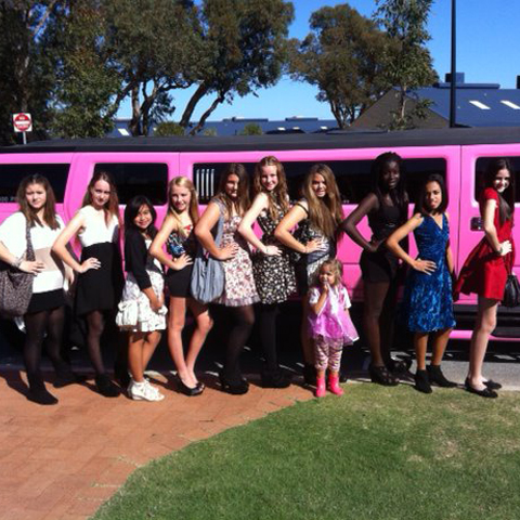 Kids Limo Party in Perth