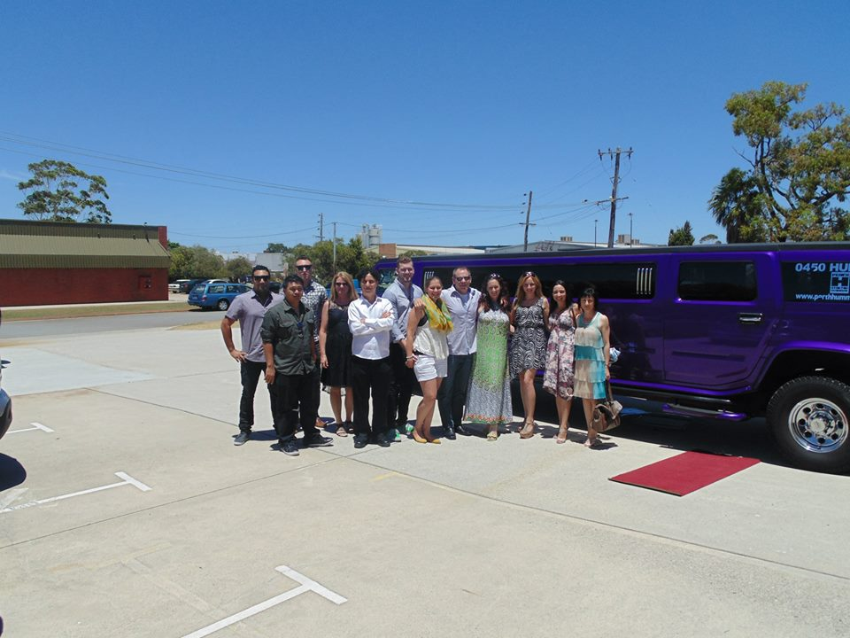 Xmas Party Limo Perth