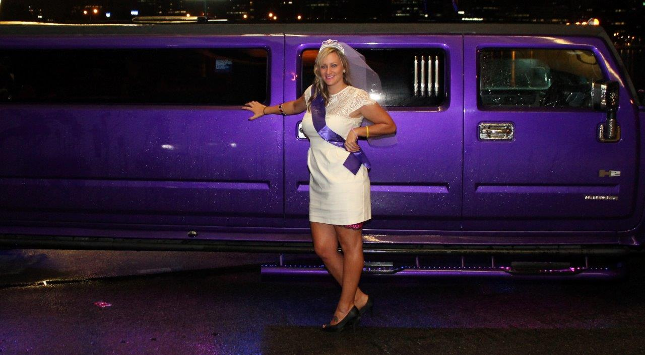 Purple Hummer is a great way to enjoy your hens night
